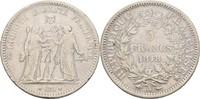 5 Francs 1848 A Frankreich Paris  f.ss/ss  33.92 US$ 30,00 EUR  +  4.52 US$ shipping