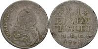 1/6 Taler 1754 Mecklenburg Schwerin Christian Ludwig II. 1747-1756. f.ss  15,00 EUR  +  3,00 EUR shipping