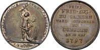 Medaille 1797 Sachsen Dresden Friedrich August III./I., 1763-1827 Kratz... 120,00 EUR  +  3,00 EUR shipping