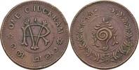 1 Chuckram 1906-35 Indien - Travancore Rama Varma VI., 1885-1924 ss  15,00 EUR  +  3,00 EUR shipping