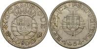 10 Escudos 1954 Port. Mosambik  vz  17,00 EUR  +  3,00 EUR shipping