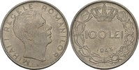 100 Lei 1943 Rumänien Michael I., 1940-47 vz+ kl. Kratzer  5,00 EUR  +  3,00 EUR shipping