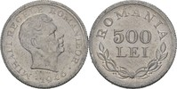 500 Lei 1946 Rumänien Michael I., 1940-47 vz+ Haarkratzer  20,00 EUR  +  3,00 EUR shipping