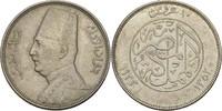10 Piaster 1933 Ägypten Fuad I., 1922-36 vz winzige Kratzer  35,00 EUR  +  3,00 EUR shipping