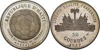 50 Gourdes 1977 Haiti Fussball WM 1978 in Argentinien PP offen, Patina ... 17,00 EUR  +  3,00 EUR shipping