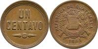 1 Centavo 1881 Guatemala  vz  50,00 EUR  +  3,00 EUR shipping