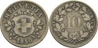 10 Rappen 1850 BB Schweiz  ss-  14,00 EUR  +  3,00 EUR shipping
