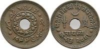 1 Payalo (1/4 Kori) 1944 Indien - Kutch Vijayarajji, 1942-47 ss  5,00 EUR  +  3,00 EUR shipping