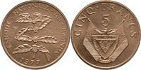 5 Francs 1977 Ruanda Essay - Probe Kaffeestrauch Stempelglanz  40,00 EUR  +  3,00 EUR shipping