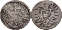 Gröschel 1673 RDR Austria Habsburg Schlesien Oppeln Leopold I., 1657-17... 15,00 EUR  +  3,00 EUR shipping