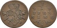 1/2 Pfennig 1779-1795 Bistum Würzburg Franz Ludwig von Erthal, 1779-179... 15,00 EUR  +  3,00 EUR shipping