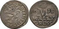 Maly Groschen 1618 RDR Böhmen Prag Matthias I./II., 1612-1618 ss  100,00 EUR  +  3,00 EUR shipping