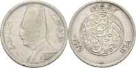2 Piaster 1929 BP Ägypten Fuad I., 1922-36 fast ss  7,00 EUR  +  3,00 EUR shipping