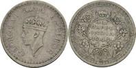 1/2 Rupie 1944 L Brit. Indien Georg VI., 1936-52 ss Kratzer  7,00 EUR  +  3,00 EUR shipping