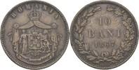10 Bani 1867 HEATON Rumänien Karl I., 1866-81 ss  15,00 EUR  +  3,00 EUR shipping