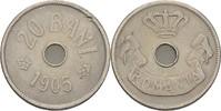 20 Bani 1905 Rumänien Karl I., 1881-1914 ss Kratzer  10,00 EUR  +  3,00 EUR shipping