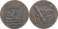 1 Duit 1780 Niederl. Ostindien Zeeland ss  20,00 EUR  +  3,00 EUR shipping
