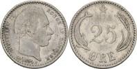 25 Öre 1894 VBP Dänemark Christian IX., 1863-1906 ss-  35,00 EUR  plus 3,00 EUR verzending