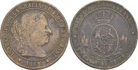 2 1/2 Centimos 1868 OM Spanien Isabel II., 1833-68 fast ss/ss  13,00 EUR  +  3,00 EUR shipping