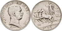 1 Lira 1917 R Italien Vittorio Emanuele III., 1900-46 ss  14,00 EUR  +  3,00 EUR shipping