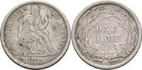 1 Dime 1883 USA  ss-  19,00 EUR  +  3,00 EUR shipping