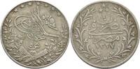 5 Qirsh 1911 H Ägypten Muhammad V., 1909-14 ss  15,00 EUR  +  3,00 EUR shipping
