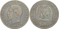 5 Centimes 1855 D Frankreich Napoleon III., 1852-70 ss  13,00 EUR  +  3,00 EUR shipping