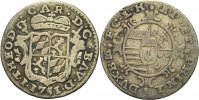 Lttich 1/2 Schilling 1751 ss Johann Theod...