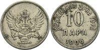 10 Para 1906 Montenegro Nikolaus, 1860 - 1918 fleckig, ss  8,00 EUR  +  3,00 EUR shipping