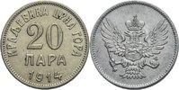 20 Para 1914 Montenegro Nikolaus, 1860 - 1918 ss+  13,00 EUR  +  3,00 EUR shipping