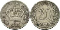 20 Lepta 1894 Griechenland Georg I., 1863 - 1913. ss  8,00 EUR  +  3,00 EUR shipping