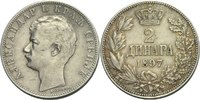 2 Dinara 1897 Serbien Alexander I., 1889-1903 ss+  25,00 EUR  +  3,00 EUR shipping