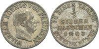 1/2 Silbergroschen 1868 Preussen Hannover Wilhelm I., 1861 - 1888. ss  10,00 EUR  +  3,00 EUR shipping
