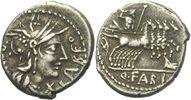 Denar 124 - 123 RÖMISCHE REPUBLIK Q. Fabius Labeo Denar 124 BC ss  70,00 EUR  +  3,00 EUR shipping