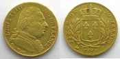 20 Francs  1814 K s+ 1814 K  (Bordeaux)   ...