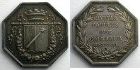 1821 Jetons und Medaillen Jeton octogonal en argent   Conseil Municipa... 60,00 EUR  plus 5,00 EUR verzending