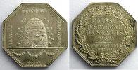 1835 Jetons und Medaillen jeton octogonal en argent   1835    SUP vz  60,00 EUR  plus 5,00 EUR verzending
