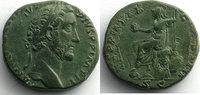 155-156 n. Chr. Römische Kaiserzeit R/ TR POT XIX COS IIII SC   (Rome ... 450,00 EUR Gratis verzending