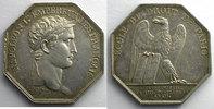 Jetons und Medaillen  jeton octogonal en argent   Napoléon I   An XII (1804)    TTB