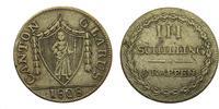 III Schilling 1808 Schweiz Glarus Kanton, 3 Schilling / 9 Rappen   * se... 292,00 EUR  +  6,00 EUR shipping