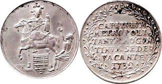 Taler 1732 Mainz 1/8 Taler 1732 Mainz-Erzb...