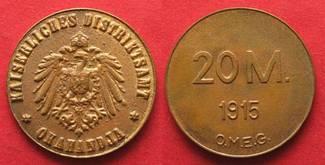 1915 Deutsch-Südwestafrika DEUTSCH-SÜDWES...