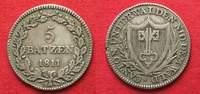 1811 Schweiz - Nidwalden NIDWALDEN 5 Batz...