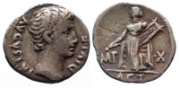 Roman Imperial  -31/14 ss AUGUSTUS 31 v.Ch...