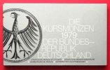Deutschland - Bundesrepublik  GERMANY Mint Set 1979 D,F,G,J (all mints) BU # 40513