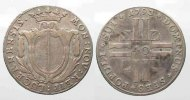 Schweiz - Luzern  Swiss LUZERN 1/4 Thaler (10 Batzen) 1793 silver VF # 77794