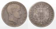 Italien  KINGDOM of NAPOLEON 1 Lira 1811 M-MILAN silver VF # 77809