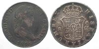 Spanien  SPAIN 4 Reales 1816 GJ Madrid FERNANDO VII silver VF VERY SCARCE YEAR!!! # 77817
