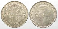 England  GREAT BRITAIN Half Crown 1927 GEORGE V silver aUNC!!! # 77845