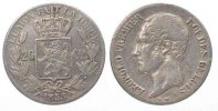 Belgien  BELGIUM 20 Centimes 1853 without periods LEOPOLD I silver VF # 77945